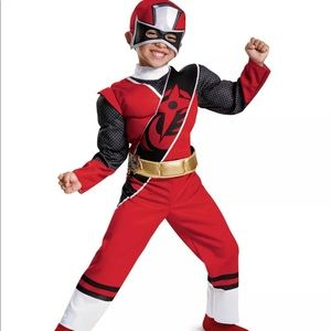 Other - Power Rangers  Red Ranger Toddler Costume Size 2T